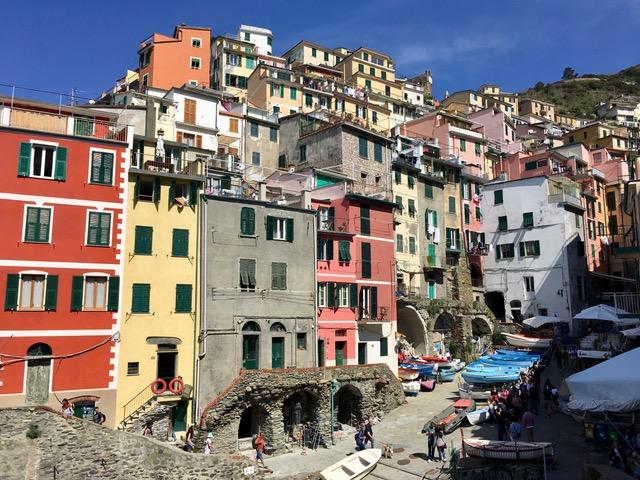 Riomaggiore Cinque Terre látnivalók