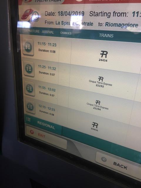 Riomaggiore látnivalói Vonattal a Cinque Terrére