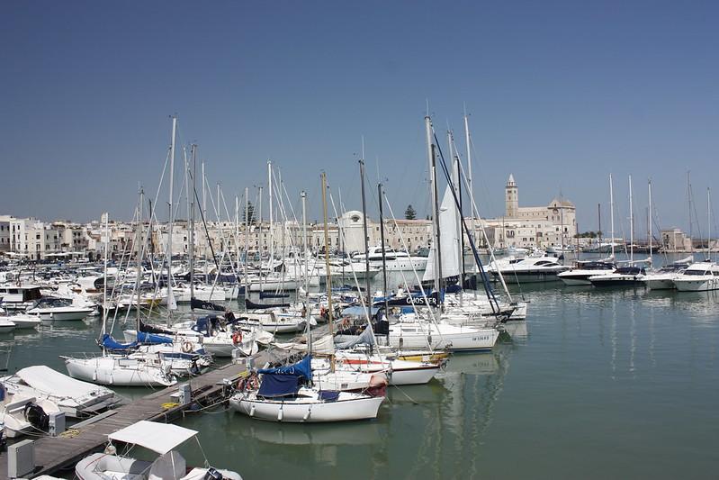 Trani látnivalói - A kikötő