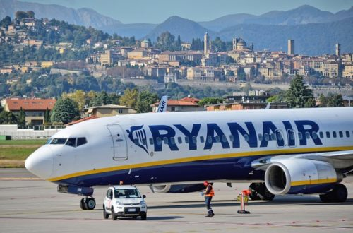 bergamói reptér közlekedés