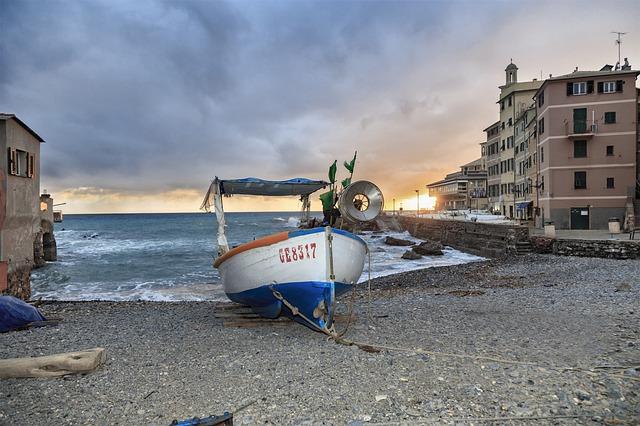 Boccadasse Látnivalói: a halászkikötő